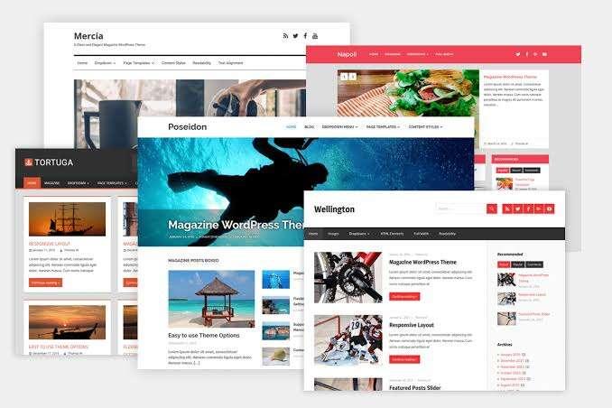 Teknoloji Blogunuz İçin Elle Seçilen 8 WordPress Teması